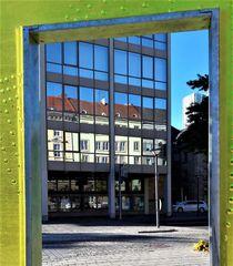 Spiegeltag Bayreuth : vom Fotostandpunkt rückwärts