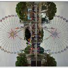 Spiegeltag: la grande roue à NICE, france