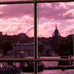 Spiegeltag - Skyline mit Schiff2