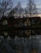 Spiegelung am Abend