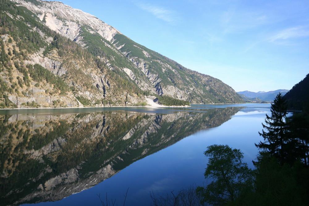 Spiegelung am Achensee