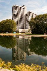 Spiegelung am Wöhrder See