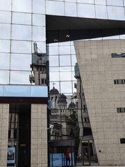 Spiegelung an der Calea Victoriei
