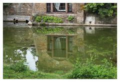 Spiegelung Burg Satzvey 1