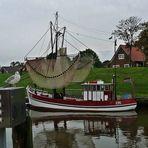 Spiegelung-Fischerboot