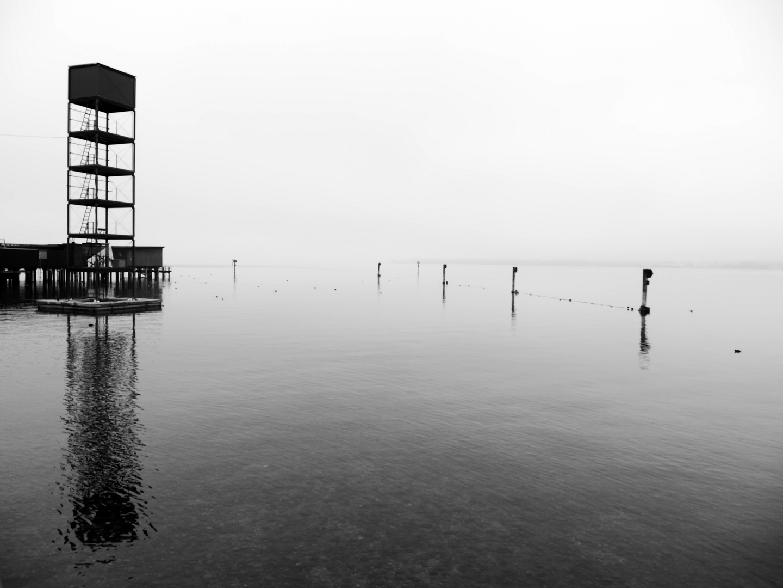 Spiegelung im Bodensee