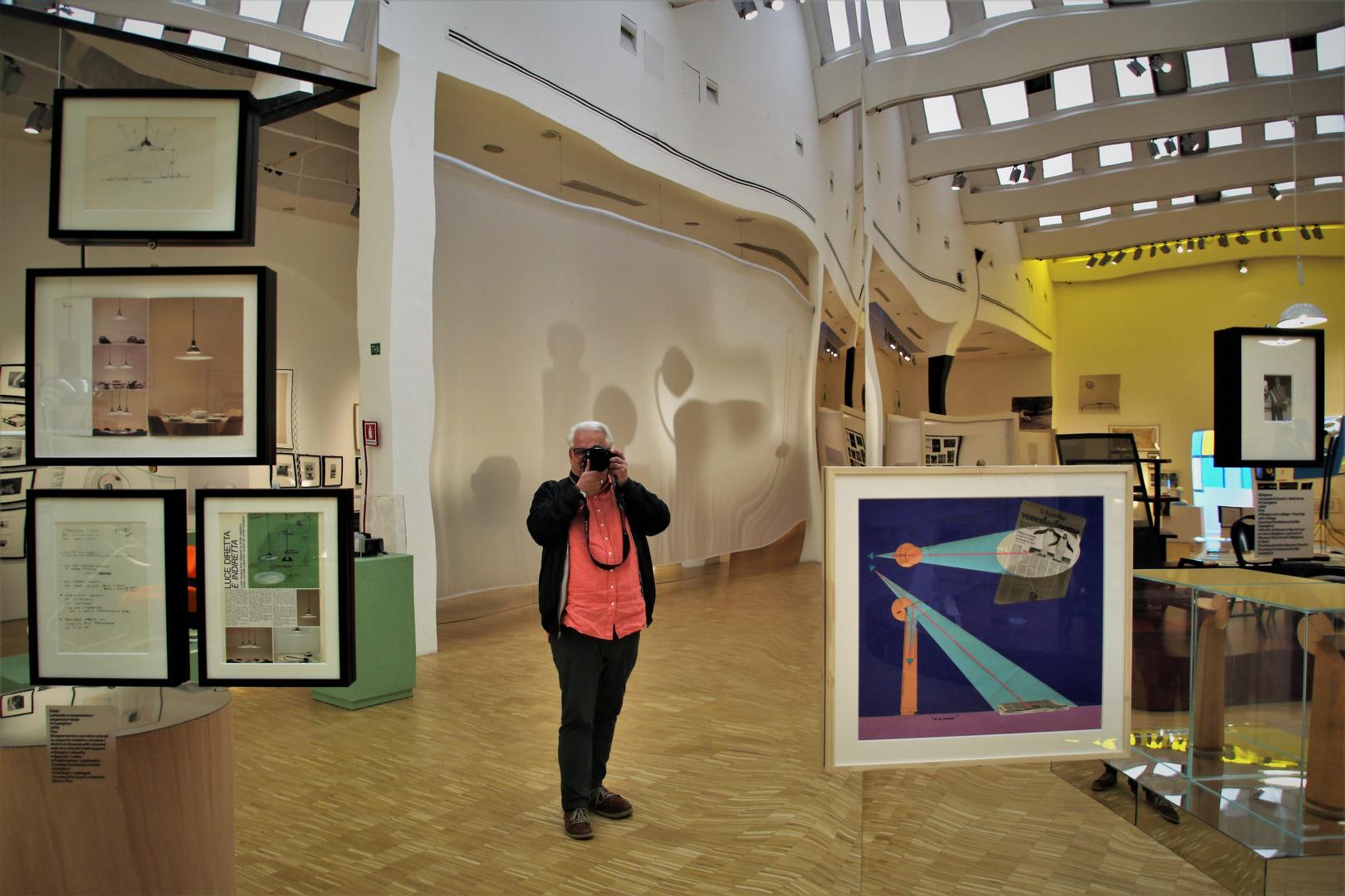 Spiegelung im Triennale di Milano
