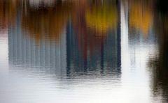 Spiegelung im Wöhrder See