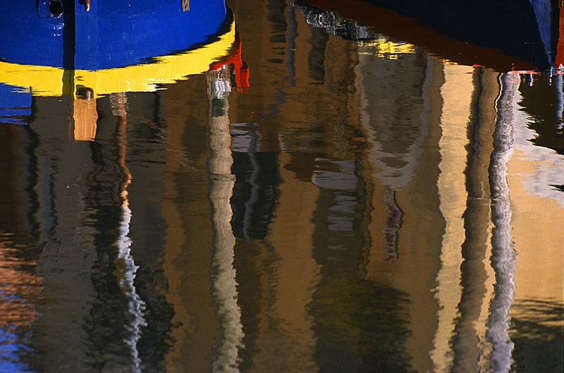 Spiegelung in Chioggia