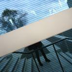 Spiegelung in der Glasfassade... unbearbeitet