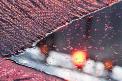 Spiegelung in Rot