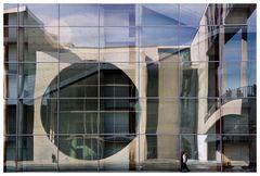 Spiegelung Paul Löbe Haus (Regierungsviertel)