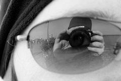 Spiegelung Sonnebrille