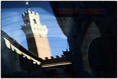 spiegelung Toskana Sienna