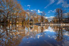 Spiegelung Wittelsbacher Park