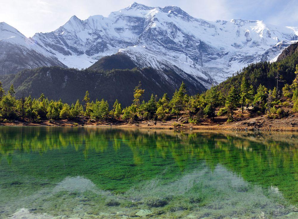 Spiegelungen an der Annapurna