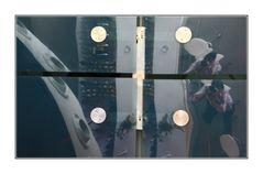 Spiegelungen im Cafe im Kunsthaus 01