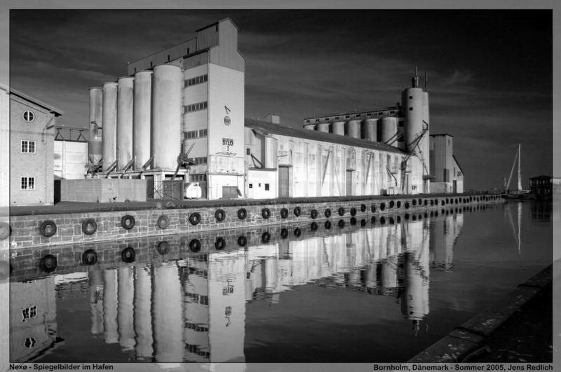 Spiegelungen im Hafen von Nexø II