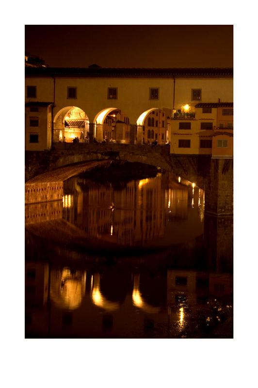 Spiegelungen in Florenz