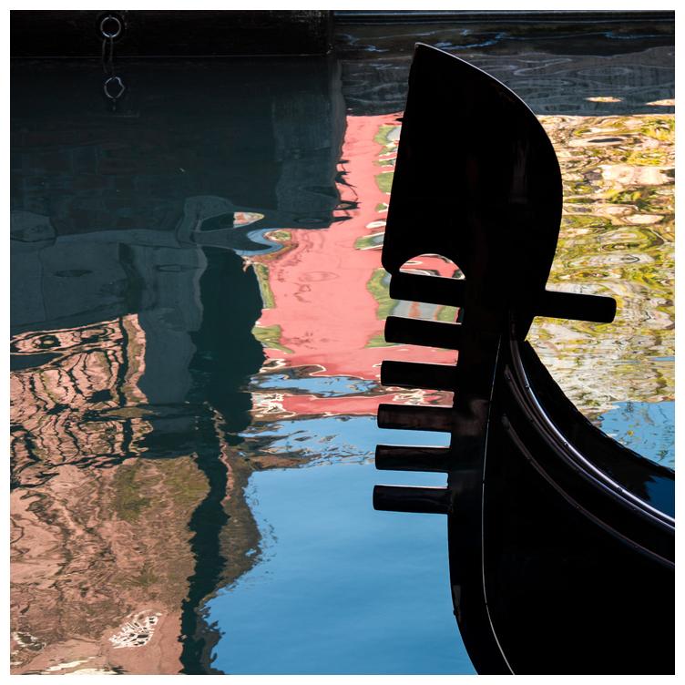 Spiegelungen in Venedig