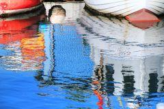 Spiegelungen Niendorfer Hafen