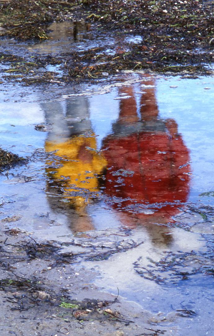 Spieglung im Wasser
