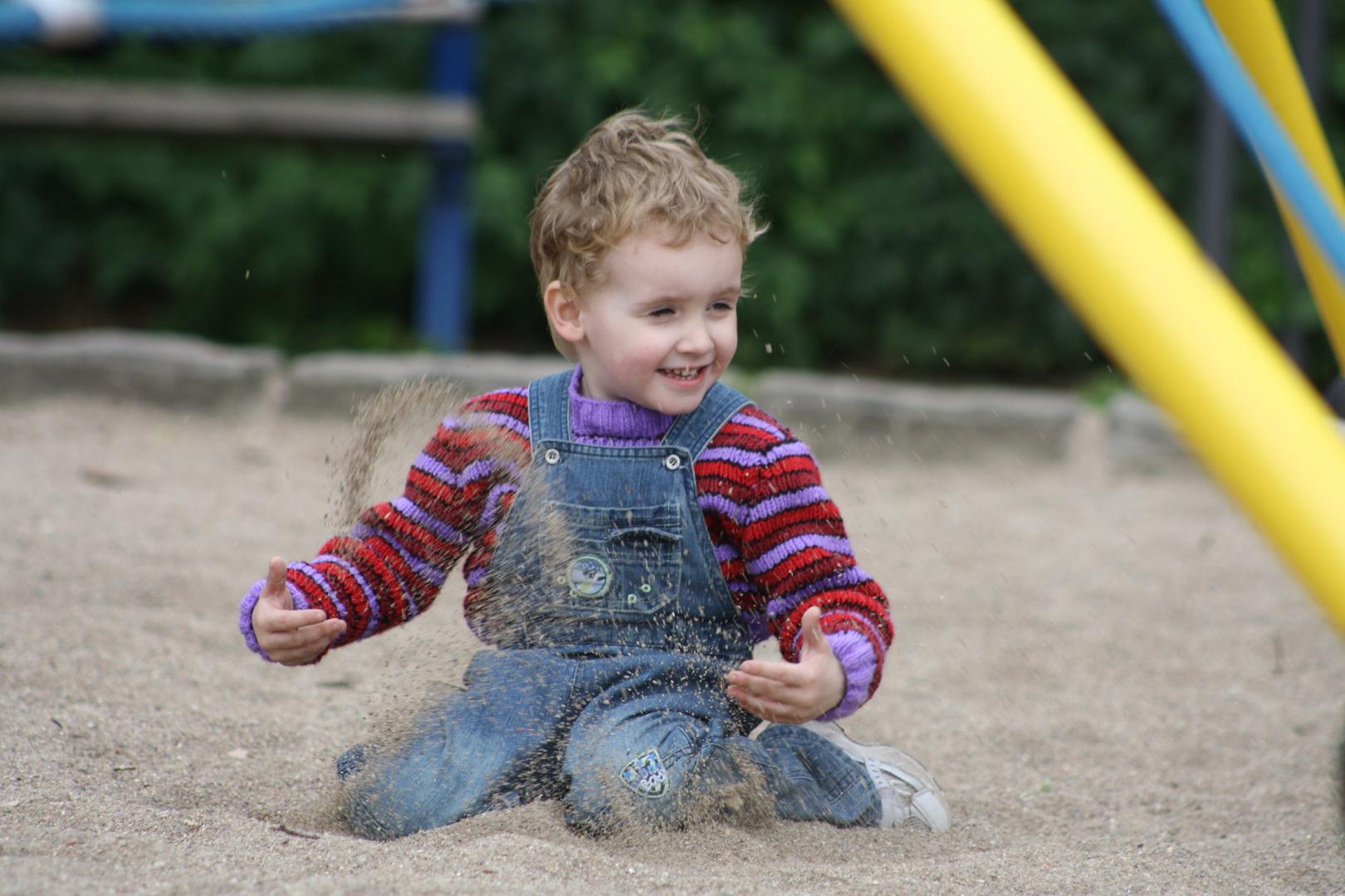 Spiel im Sand