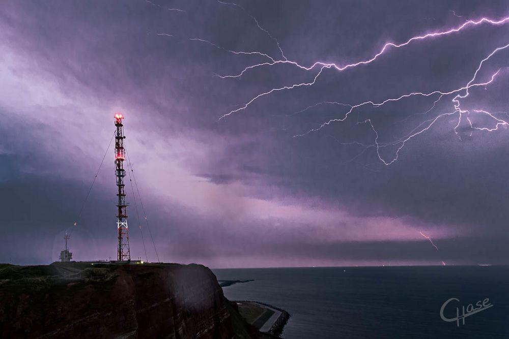 Spiel mit dem Blitz