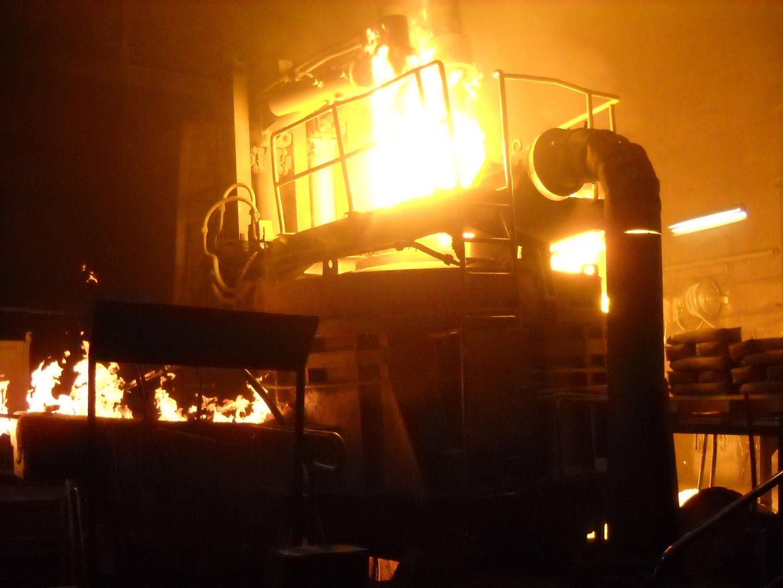 Spiel mit den Feuer