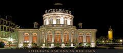 Spielbank Bad Ems, Panorama bei Nacht