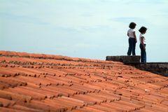 Spielort Dach