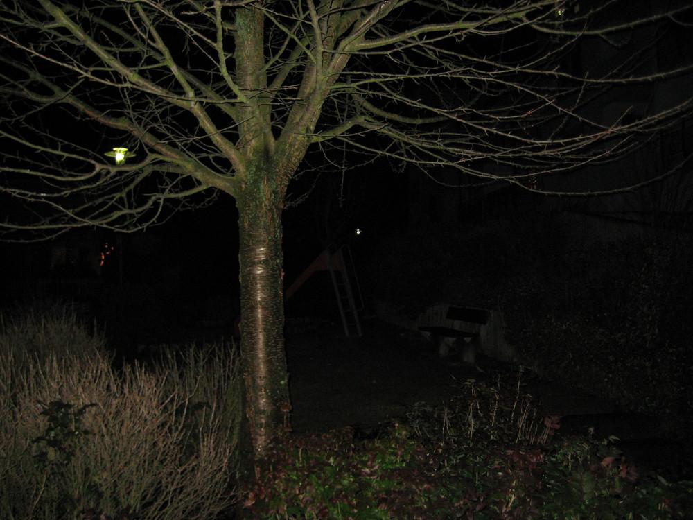 Spielplatz im Dunkeln