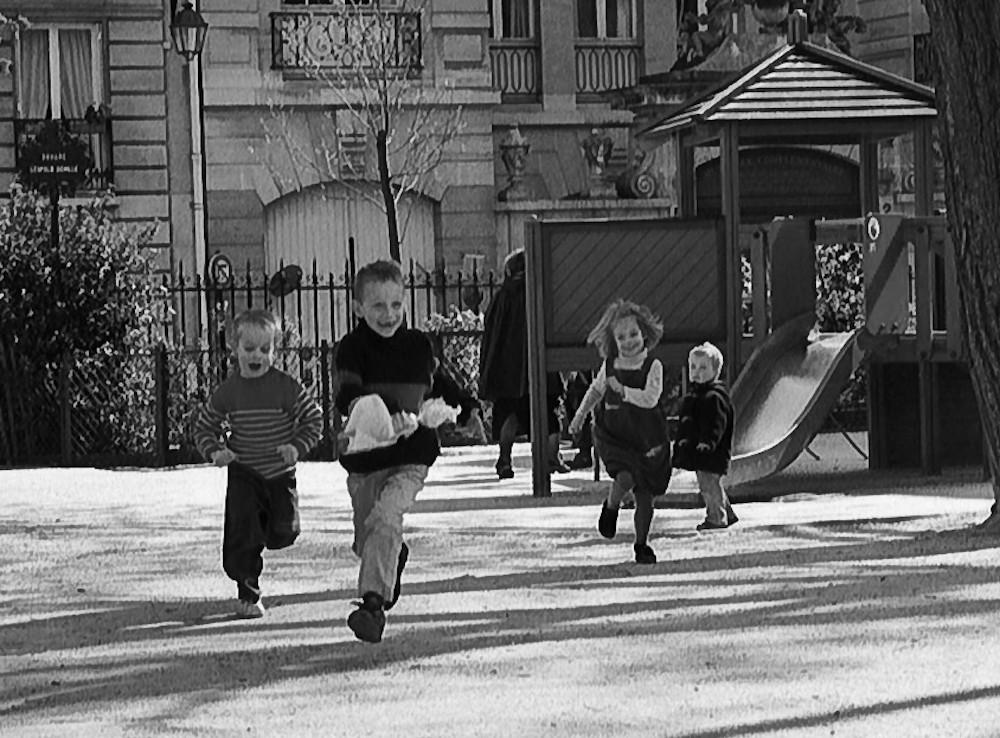 Spielplatz im Marais