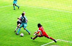 Spielszene U20 WM-Finale Deutschland - Nigeria