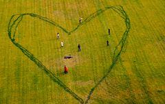 Spielwiese mit Herz