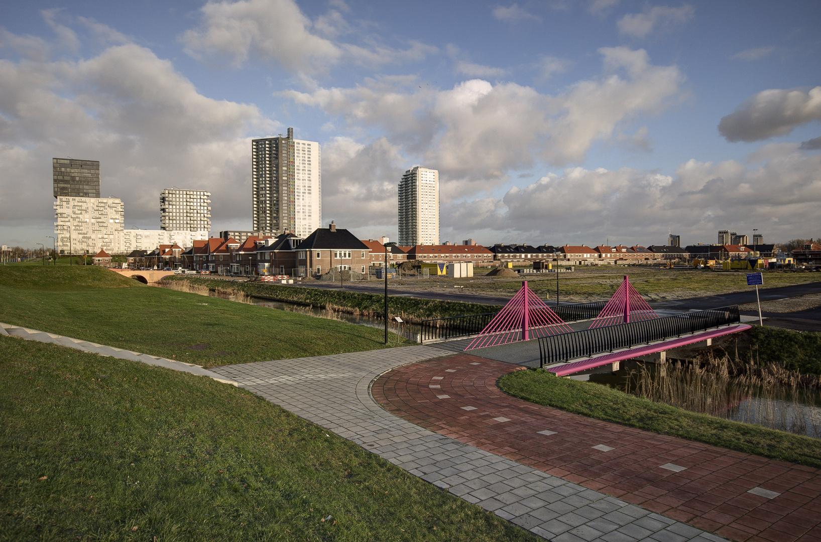 """Spijkenisse - Elementenweg - Flats """"De Vier Werelden"""" - 02"""