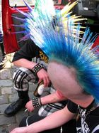 Spiky Hair Drunk Punk