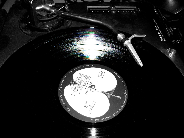 spinning beatles