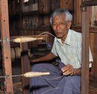 Spinning the Lotus Fibers