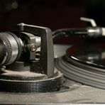 spinning turntable