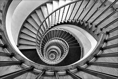 * Spiral-treppe *