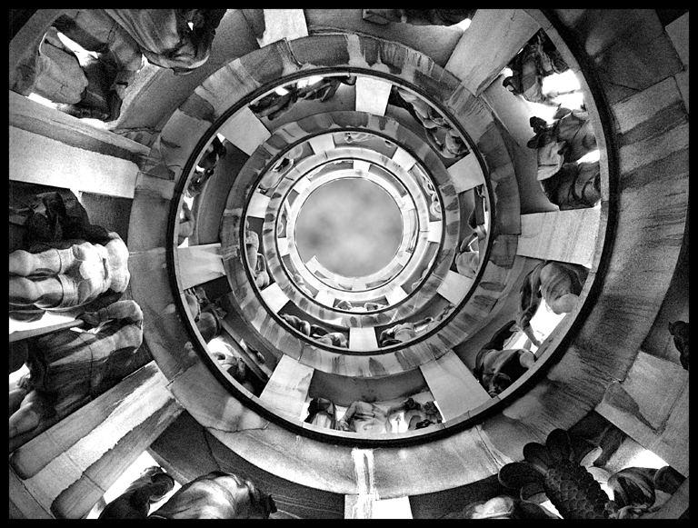 spirale per il cielo