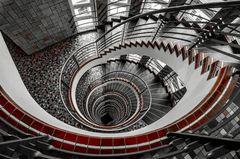 - spiralförmig abwärts -