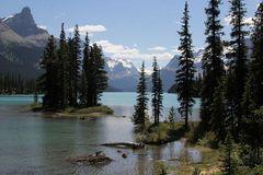 Spirit Island im Maligne Lake / Jasper National Park