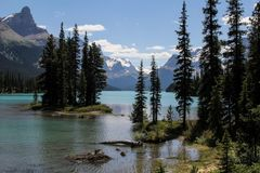 Spirit Island im Maligne Lake/Reload