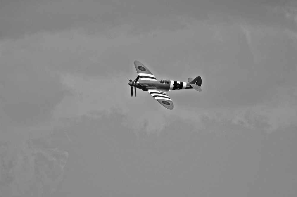 Spitfire en vol