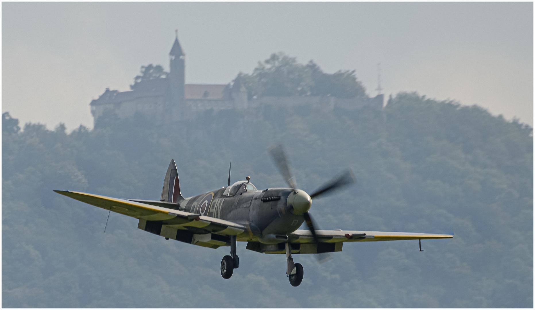 Spitfire vor der Teck