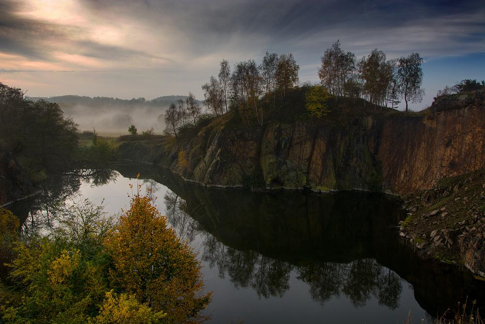 Spitzberg im Herbst