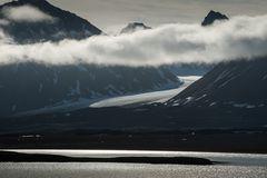 Spitzbergen, der tauende Gletscher