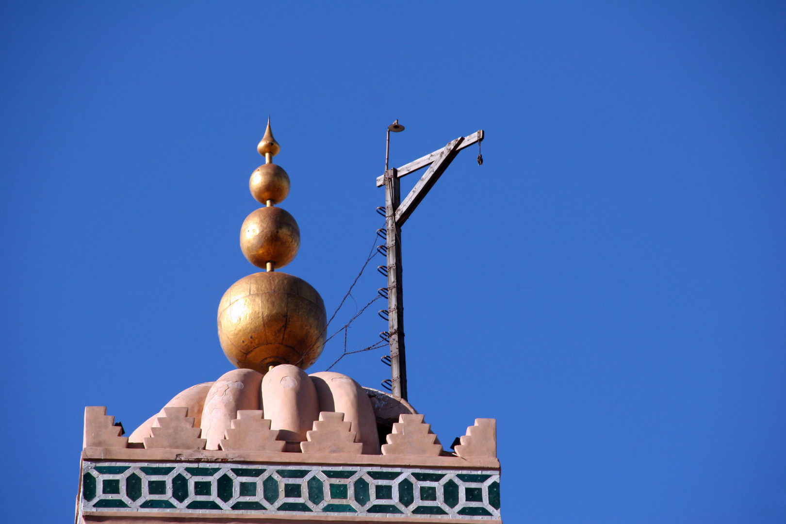 Spitze der Moschee
